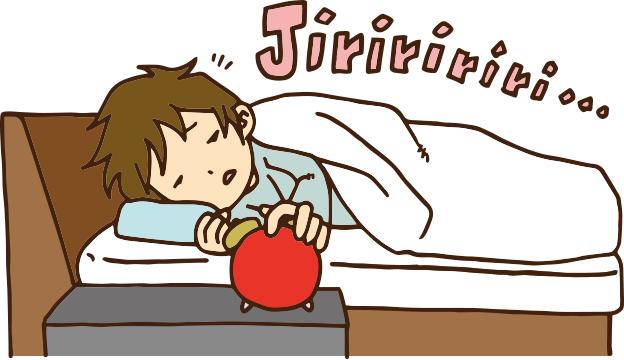 どうしても二度寝してしまう原因と自然と二度寝を辞めれる方法